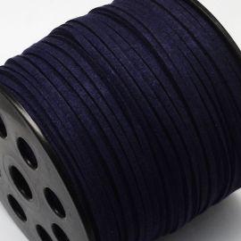 Zamšādas lente 3 mm., 1 m.