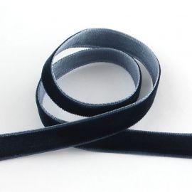 Бархатная односторонняя полоса 6,5 мм., 1 м.
