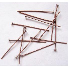 Metallist tihvtid 30x0,7 mm., Umbes 100 tk