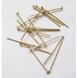 Metal pins 30x0.7 mm., app. 100 pcs.