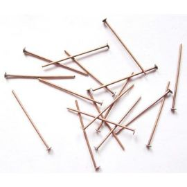 Metal pins 20x0.7 mm., app. 100 pcs.