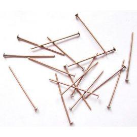 Metal pins 20x0.7 mm., app. 100 pcs.