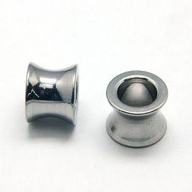 Nerūdijančio plieno 304 intarpas, 10x8 mm., 2 vnt
