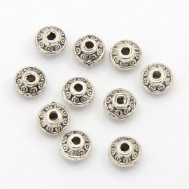 Spacer, 6x3 mm., 10 pcs. 1 bag