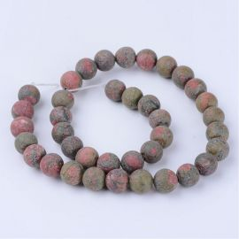 Natural beads, 10 mm., 1 strand