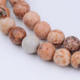 Натуральные бусины для картины bea hers, 8мм., 1 нитка