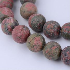 Natural beads, 8-8.5 mm., 1 strand