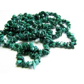 Magic alcoe stone beads/chipping thread. 43cm long. 3-7 mm