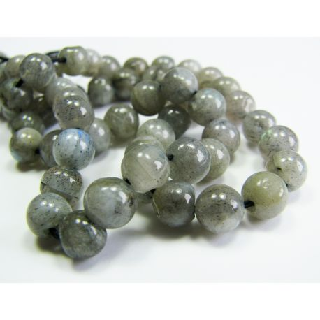 Natural labrador stone beads 5-6 mm
