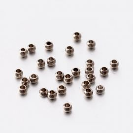 Nerūdijančio plieno 304 intarpas, 2 mm., 20 vnt. 1 maišelis
