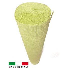 Качественная итальянская бумага, зеленоватая 566, 2,50 х 0,50 м.
