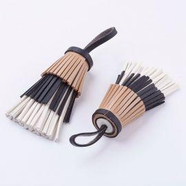 Elementas naudojamas dekoruoti, gaminiti papuošlus, randarbius, elementus aksesuarams ilgis 145 mm, 1 vnt. Kaina 2 Eur.