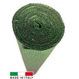 Italian crepe paper, green, 2.50 x 0.50 m.