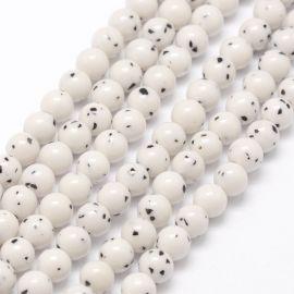 Bodhi beads, 8 mm., 1 strand