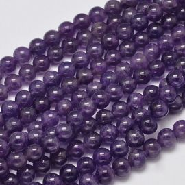 Natural Amethist beads. Purple size 8 mm