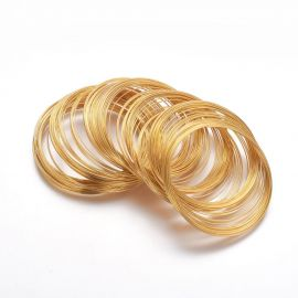 Wire with memory for bracelet, 0.60 mm., ~10 rings 1 bag