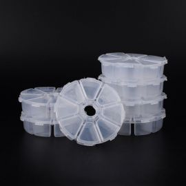 Plastic box, 105x105x28 mm., 1 pcs.