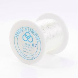 Sturdy elastic rubber, 0.70 mm., coil ~100 meters 1 coil