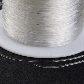 Tugev elastne kumm, 0,70 mm., Mähis ~ 100 meetrit 1 mähis