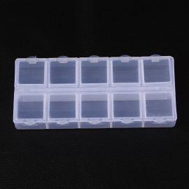 Ящик пластиковый, 130x60x20 мм., 1 шт.