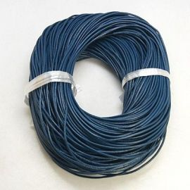 Natural leather cord, 2.00 mm., 1 meter