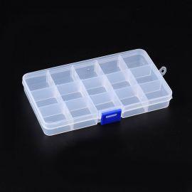 Ящик пластиковый для бус 180х100 мм, 1 шт.