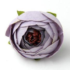 Decorative fabric flower 30 mm, 1 pcs.