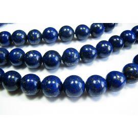 Lapis Lazuli pērlīšu šķipsna 10 mm A klase