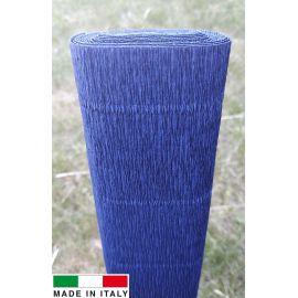 Italian crepe paper, bluish, 2.50 x 0.50 m.