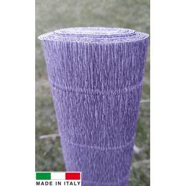 Itališkas krepinis popierius, pilkos spalvos, 2.50 x 0.50 m.