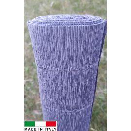 Итальянская крепированная бумага, серая, 2,50 х 0,50 м.