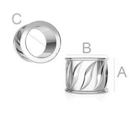 Insert 925. Silver size 5.5x7x4.5 mm