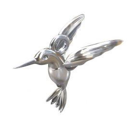 "Pendant ""Bird"" 925, 14,5x15x1.5 mm 1 pcs."