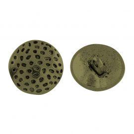 Metallist nööp, 19,5x8 mm, 4 tk, 1 kott