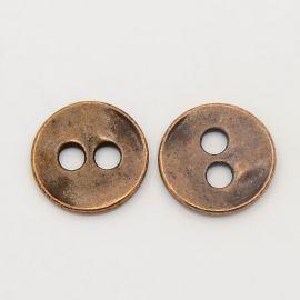 Metal saga. Aged copper size 13x2 mm