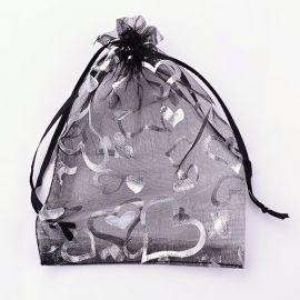 Organza bags, 9x7 cm, 5 pack, 1 pack