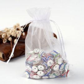 Organzos maišeliai, 12x10 cm, 5 vnt., 1 pakuotė