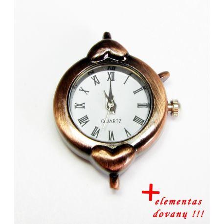 Mehaaniline kell koos elemendiga, vanandatud vask värv 32x25 mm