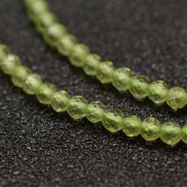 Natural perilide beads, 2 mm, 1 strand