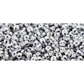 Preciosa Seed Beads (39001/04590-9) white and black 50 g