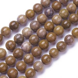 Natural Jaspio beads 8 mm 1 strand