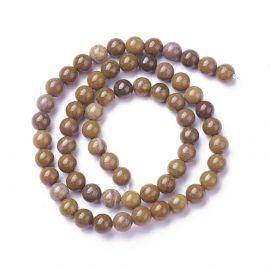 Natural Jaspio beads 6 mm 1 strand
