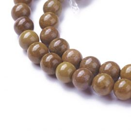 Natural Jaspio beads 4 mm 1 strand
