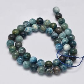 Natural Apatite beads 7-8 mm 1 strand