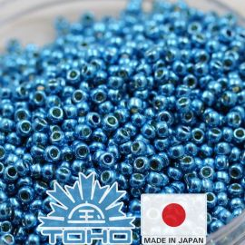 TOHO® Biseris Permafinish - Galvanized Aqua Sky TR-11-PF582 11/0 (2,2 mm) 10 g.