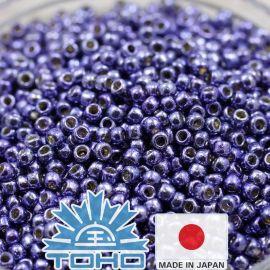 TOHO® Seed Beads PermaFinish - Metallic Polaris TR-11-PF567 11/0 (2,2 mm) 10 g.