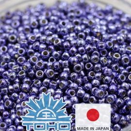 TOHO® seemnehelmed PermaFinish - metallik Polaris TR-11-PF567 11/0 (2,2 mm) 10 g.