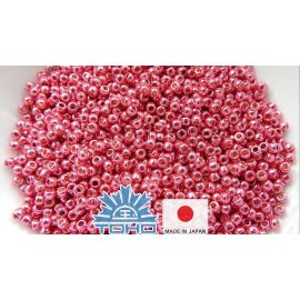 TOHO® Seed Beads PermaFinish - Galvanized Orchid TR-11-PF563 11/0 (2.2 mm) 10 g.