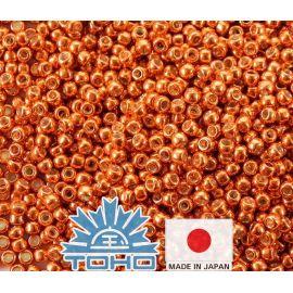 TOHO® Bisser PermaFinish - tsingitud safran TR-11-PF562 11/0 (2,2 mm) 10 g.