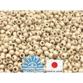 TOHO® Biseris PermaFinish - Matte Galvanized Aluminum TR-11-PF558F 11/0 (2,2 mm) 10 g.